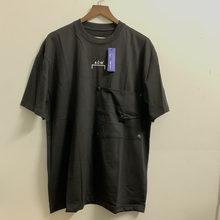 Novo chegou grande botão bolso A-COLD-WALL * t camisas das mulheres dos homens 2021 de alta qualidade algodão logotipo clássico impressão acw t
