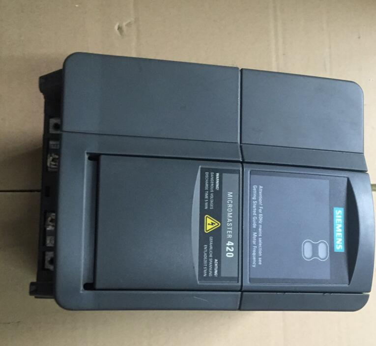 6SE6420-2UD24-0BA1 4KW 380V   inverter  ,  used one , 85% appearance new , test goods , free shipping