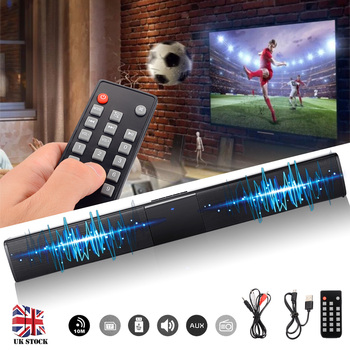4 Speaker Powerful 3D Music Sound bar Home Theater 20W Portable Wireless Soundbar Sven bluetooth Aux 3.5mm TF For TV PC