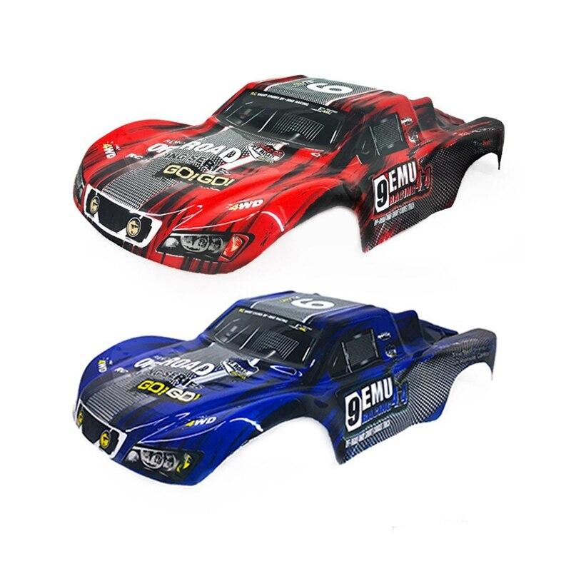 2 шт. для Remo Пластиковый корпус для автомобиля M0280 для 1/10 HQ 727 4X4 Traxxas SCX10-красный и синий