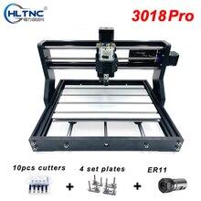 CNC 3018 Pro Laser bricolage Mini CNC Machine avec contrôleur hors ligne 3 axes fraiseuse GRBL contrôle ER11 Laser graveur