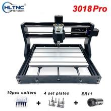 CNC 3018 Pro Laser DIY Mini CNC Machine With Offline Controller 3 Axis Milling Machine GRBL Control ER11 Laser Engraver