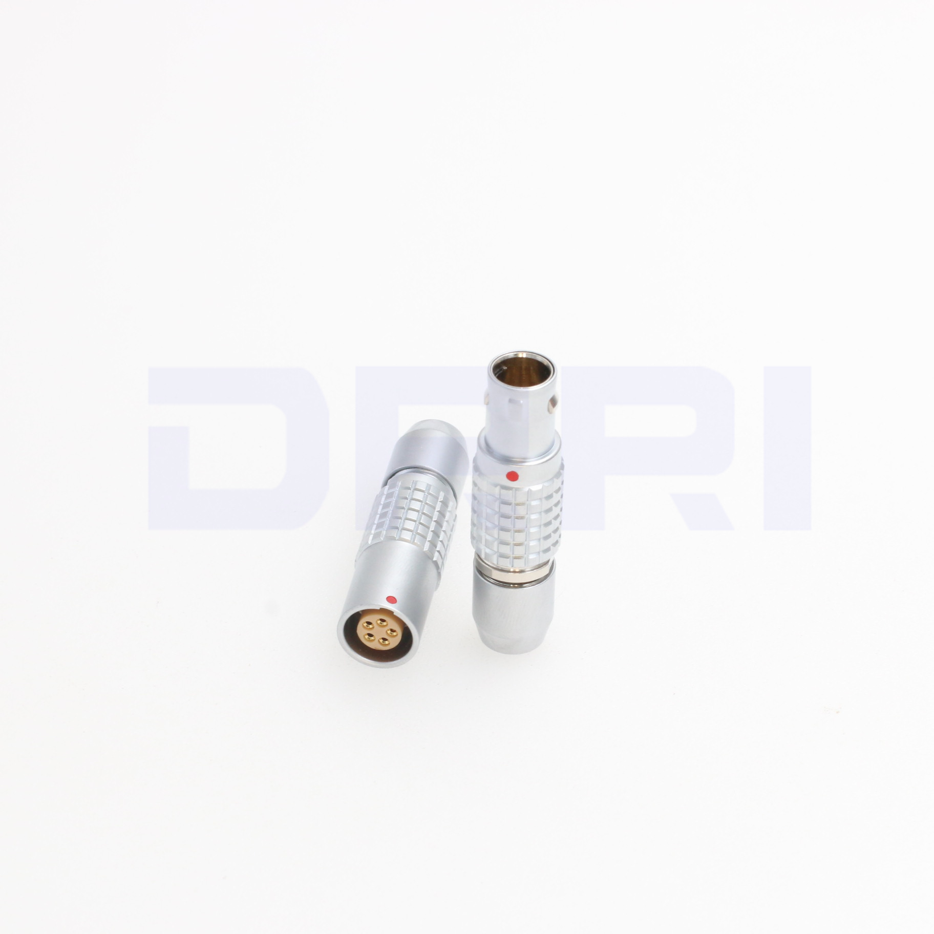Image 2 - 0B PHG FGG 2 3 4 5 6 7 9 pin push pull metal connector without bend reliefConnectors   -