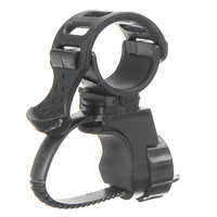 360 Degree Bike Bicycle Flashlight Torch Mount Holder Clamp Clip Adjustable Light Lamp Holder Clip