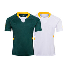 SOUTH AFRICA RUGBY HOME AWAY JERSEY size S-3XL Top quality Free shipping
