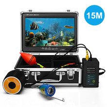 "Fish Finder Underwater Camera Fishing Camera 9"" Color Screen 1000TVL CAM Infrared IR LED Lights Remote Control usage 10 hours(China)"