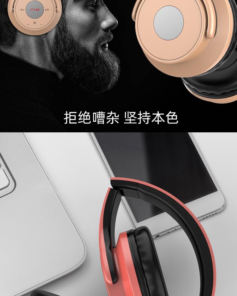 estéreo bluetooth fone de ouvido dobrável gaming
