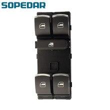 Кнопка мастер окна SOPEDAR электрический выключатель питания для Volkswagen VW Гольф Пассат В6, Тигуан Кролик Туран 5K4 959 857 5ND