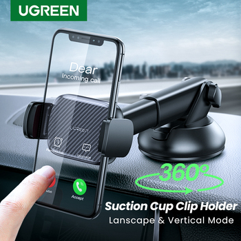 Ugreen Car Phone Holder No Magnetic Vent Mount Holder in the Car Support for iPhone 11 Pro Suction Cup Support Holder