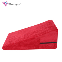 Non-Inflatable Position Cushion- Wedge/Ramp Combo Helping To Conceive Sex Furniture Chair Adult Game Chair Toys
