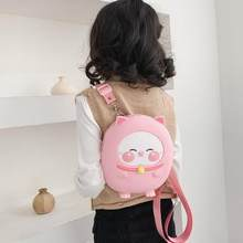 New 3D Cartoon Kids Bag Pink Green Backpack for Children Silicone School Bags Backpack for Girls Book Bag Mochila Escolar Bucket(China)