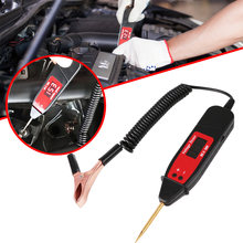 Universal Automotive Diagnostic Tool5-36V LCD Digital Circuit Tester Voltage Meter Pen Car Circuit Scanner Power Probe(China)