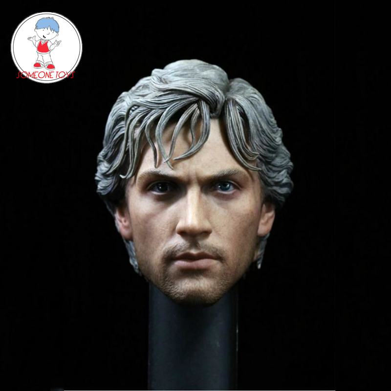 1/6 Scale QuickSilver Aaron Johnson Head Sculpt For Hot Toys Male Figure Body