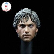 1/6 échelle Aaron Johnson tête sculpter pour jouets chauds mâle Figure corps