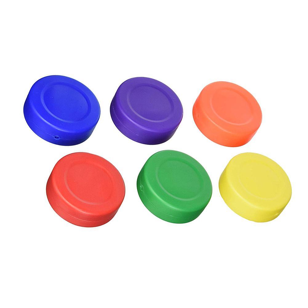 Conjunto para Jogos de Hóquei Comum para Mesas Plástico Leve Hóquei Pucks no Gelo Formação Jogo Acessórios 6 Pçs – Set Mod. 181550