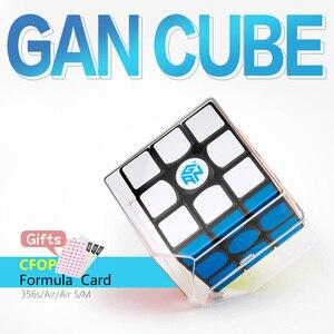 Image 3 - 3x3x3 Gan 356 Air Master Advance Master Gan Air S Gan Air SM Magnetic Gifts Cfop Formula Card Speed Magnets Magic Cubes 3x3