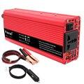 Автомобильный инвертор 2600W DC 12V/ 24V к AC 220-230V Портативное зарядное устройство конвертер адаптер двойной USB Модифицированная синусоида для дом...
