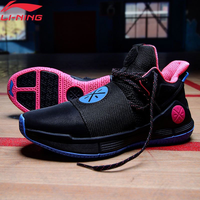 Li-Ning Men WADE SHADOW On Court Basketball Shoes Cushion Wearable LiNing Li Ning CLOUD Sport Shoes Sneakers ABPQ007 XYL304