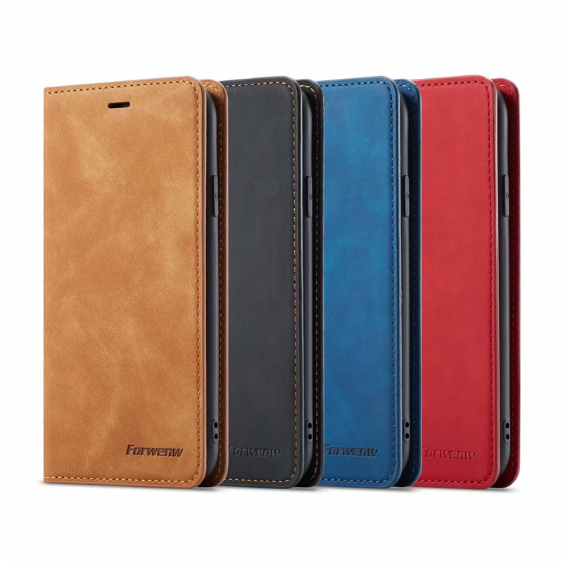 10Piece/lot For Iphone XR Case Magnetic Phone Cover High Quality Wallet Flip Leather Stand