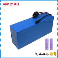 48 V 21AH 전기 자전거 자전거 배터리 750W 48 V 10AH 14AH 리튬 bateria 팩 54.6V 2A 충전기와 17AH 삼성 셀