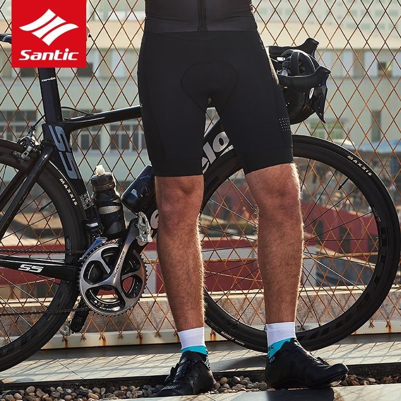 Santic 2019 New Men Cycling Shorts 4D Padded Shockproof MTB Mountain Bike Shorts Summer Spring Bicycle Shorts bermuda ciclismo