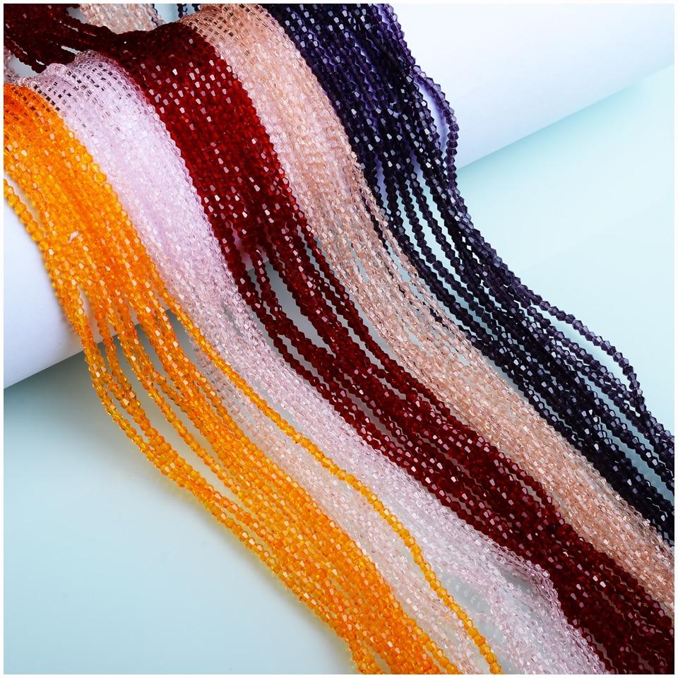 Бусины-Биконусы Juleecrystal 3 мм, аксессуары для ювелирных изделий «сделай сам», бусины-Биконусы с кристаллами