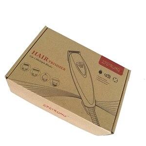 Image 5 - Cortadora de pelo profesional con cable, máquina de afeitar profesional con cable de 110 240V para barbería, Máquina para cortar cabello