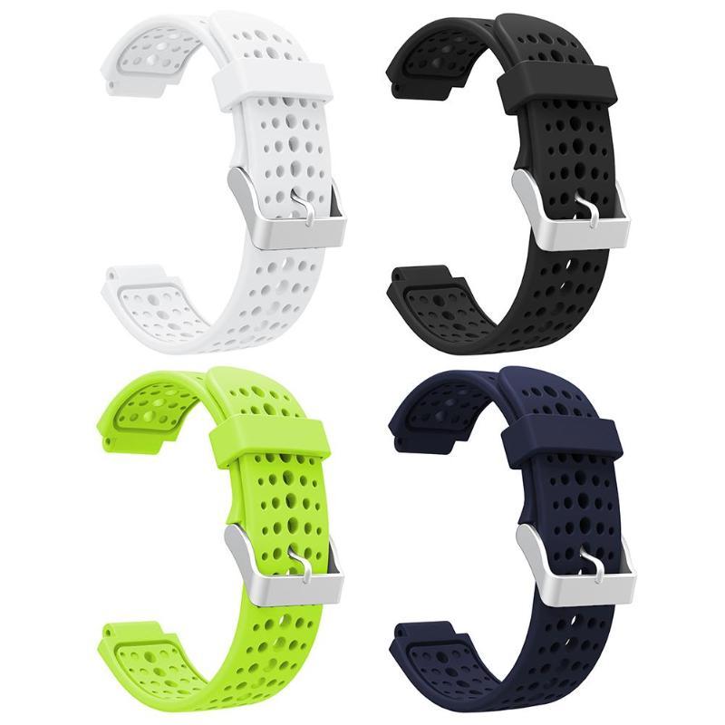For Correa Garmin Forerunner 235 Silicone Porous Watchband Strap For Garmin Forerunner 220 230 235 620 630 Wrist Band Accessory