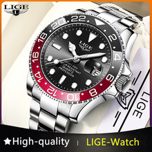2021 nuovi orologi da uomo LIGE Fashion Business orologio da polso al quarzo impermeabile da uomo orologio da uomo sportivo di lusso in acciaio inossidabile di marca superiore