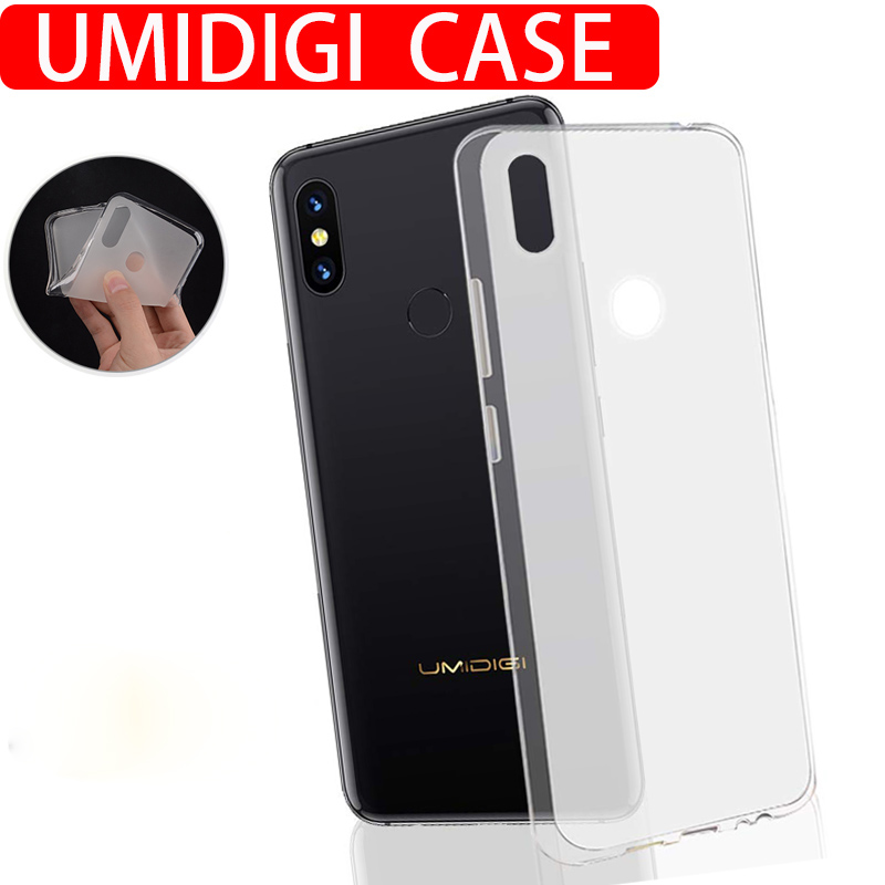 Shockproof Case on For UMIDIGI A3 S3 Pro F1 Play A5 Pro Phone Case Soft Silicone FULL TPU Back Cover Protector Shell