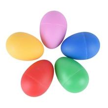 Музыкальные инструменты аксессуары красочный звук яичный шейкер maracas перкуссия красный синий желтый розовый 5 цветов