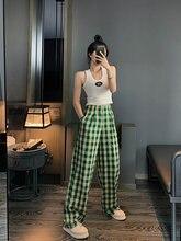 Harajuku клетчатые брюки для женщин 2020 уличная одежда женские