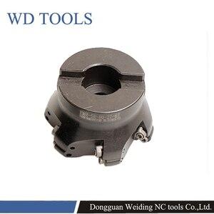 Image 2 - RPMW Rotonda Inserti in metallo duro faccia mill holder EMR 5R 6R 50 63 80 4T 5T 6T fresa fresatura cnc strumenti