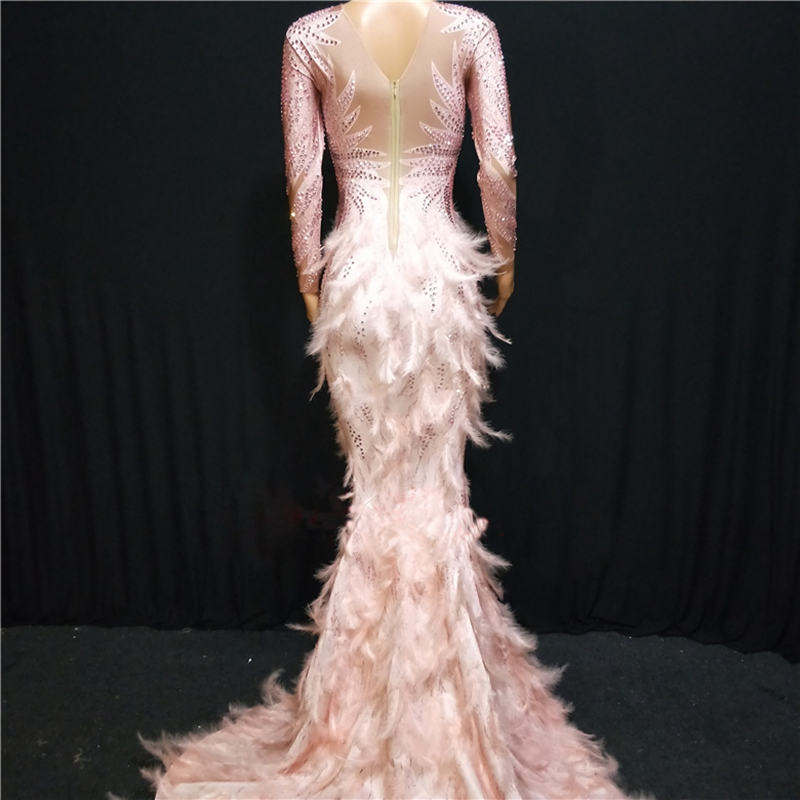 Feather Fashion Pink Last 7