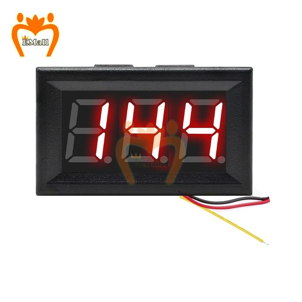 0,56 дюймов измеритель мощности постоянного тока DC 0-200V Цифровой вольтметр Voltimetro светодиодный вольтметр Напряжение тестер доктор детектор 6 в...