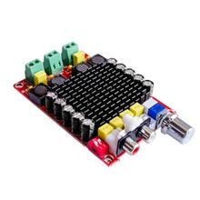 TDA7498 High Power Digital Amplifier Board 2*100W DC15-32V Class -D Amplifiers Module Audio For Home Theater Active Speaker DIY tda7498 2 1 class d 200w 100w 100w dc24v to dc32v digital power amplifier board yj00257