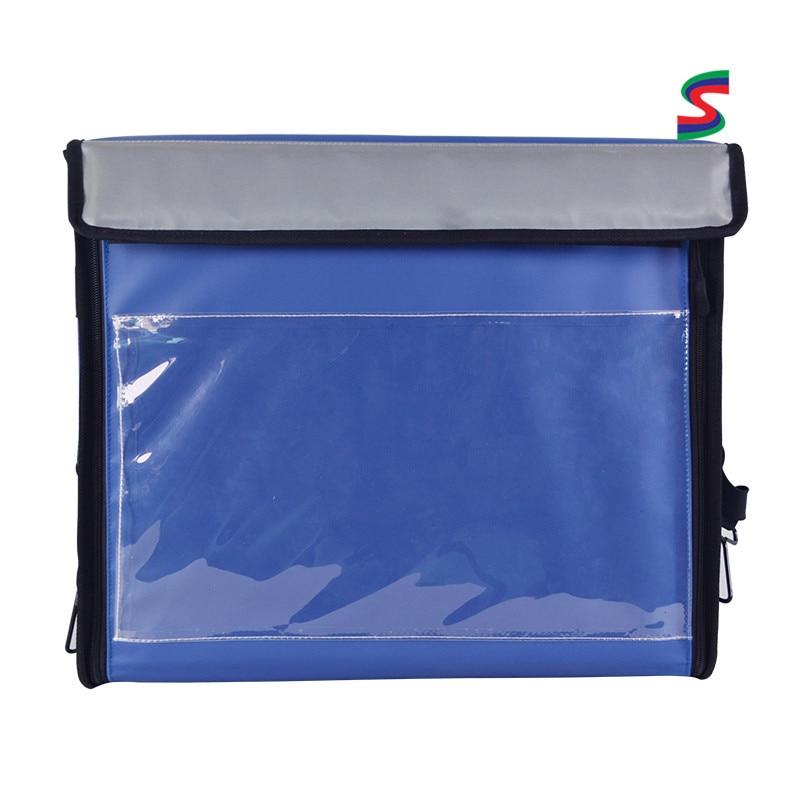 Sac de livraison de coffret isolé à emporter de moto sac de livraison équipement de restauration rapide personnalisable