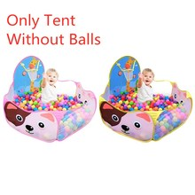 Giraffe Kids Play Game House Tent Cartoon Cast Basketball Pool Toys for Children Gifts