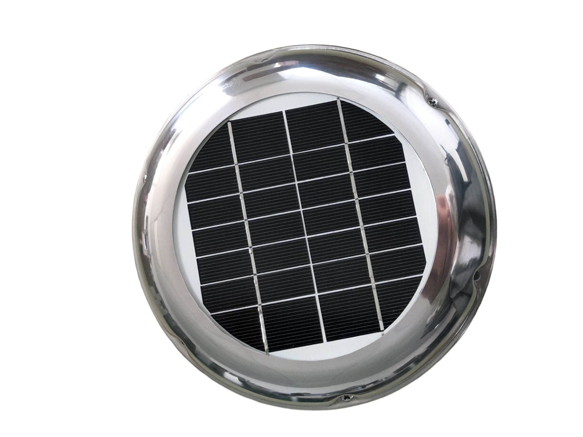 2.5W Solar Vent Fan Exhaust Ventilation Extractor 34CFM Waterproof ideal for RV Boat Caravan Greenhouse Portable Toilet