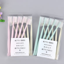 4 шт/10 шт зубная щетка для ухода за полостью рта взрослых Экологически