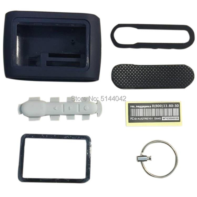Body-Cover Car-Alarm-System Remote-Control Starline D94 Keychain for Lcd Two-Way D94-Case