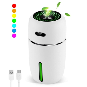 Mini Car Air Humidifier Home Silent Desktop Portable Air Purifiers Home Appliances