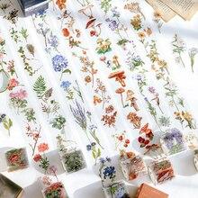 Tape Vintage Tape-Stationary Mushrooms Scrapbooking Flower-Leaves School-Supplies Creative