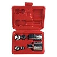 6 uds juego de reductor de enchufe multifunción convertidor de adaptador de impacto de aire para llaves y trinquetes|Enchufes| |  -