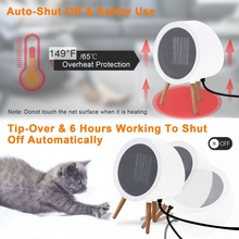 1000W Ceramic Space Heater, Portable Personal Electric Ceramic Heater Fan With Overheat Protection & Tip-Over Protection 2020