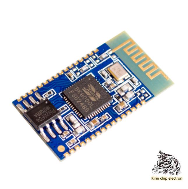 5pcs/lot Bluetooth Stereo Audio Module Serial Port At Command Spp Data Transmission Bk8000l Bluetooth Speaker Power AmplifierDIY