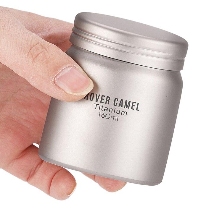 Rover camelo titânio armazenamento para café chá