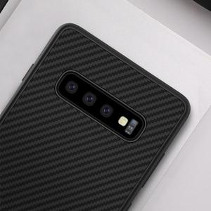Image 3 - sFor Samsung Galaxy S10 Plus Case Nillkin Synthetic Fiber Carbon Fiber PP Back Cover Case for Samsung Galaxy S10 Plus S10+ S10E