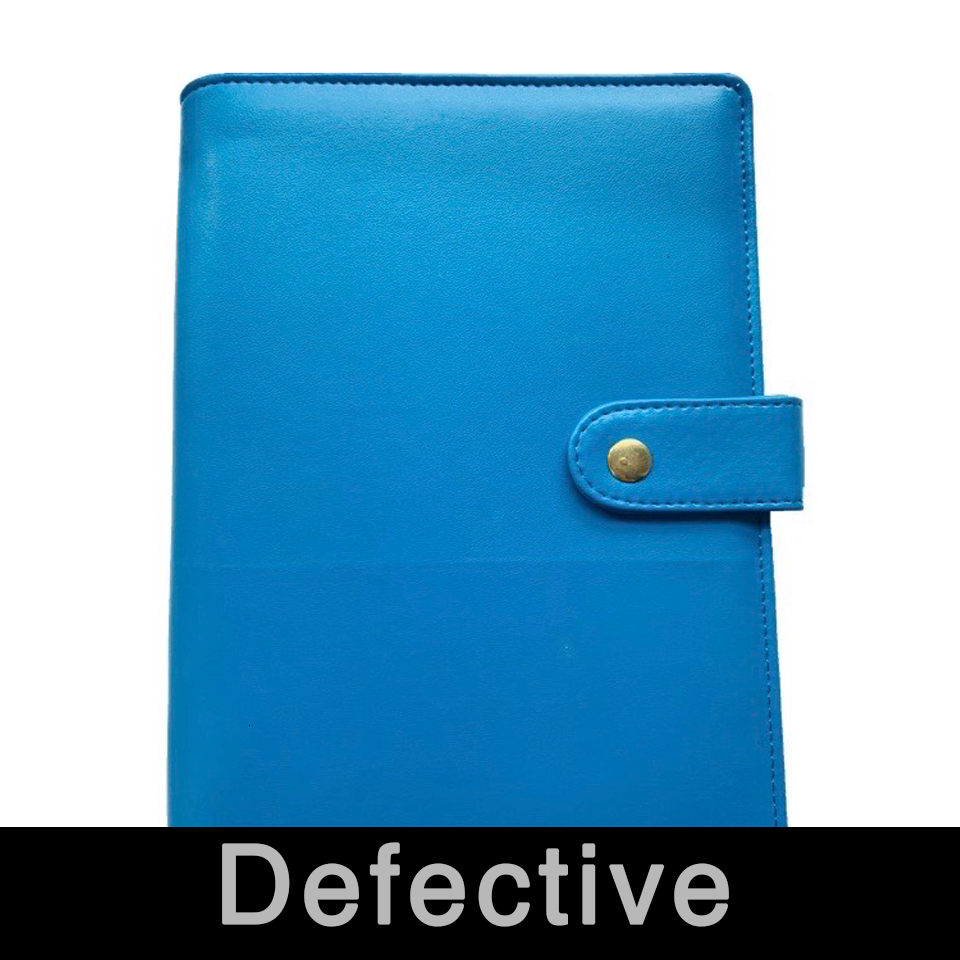 Defective A5 2020 Planner Cover Rose Gold Silver School Notebook Bullet Journal