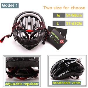 Image 3 - CAIRBULL route casque de vélo ultra léger casques de vélo hommes femmes VTT équitation cyclisme intégralement moulé casque lunettes de soleil